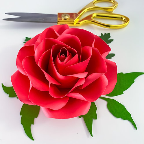 SVG PNG DXF Tiny Rose 7 Cut Files Cutting Machine No resizing needed
