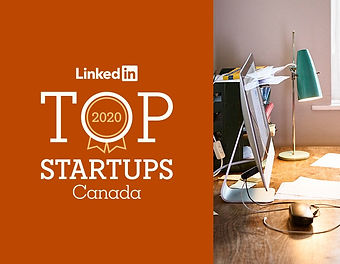 BookJane Named #4 on The 2020 LinkedIn Top Startups List Copy
