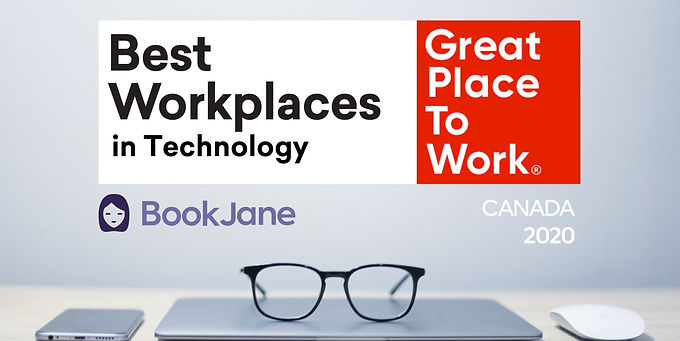 BookJane made it to the 2020 List of Best Workplaces™ in Tech