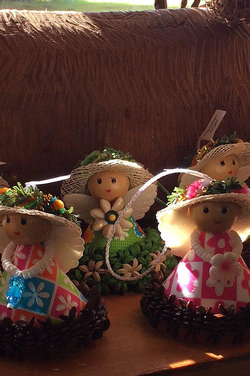 Hawaiian Angel Ornaments