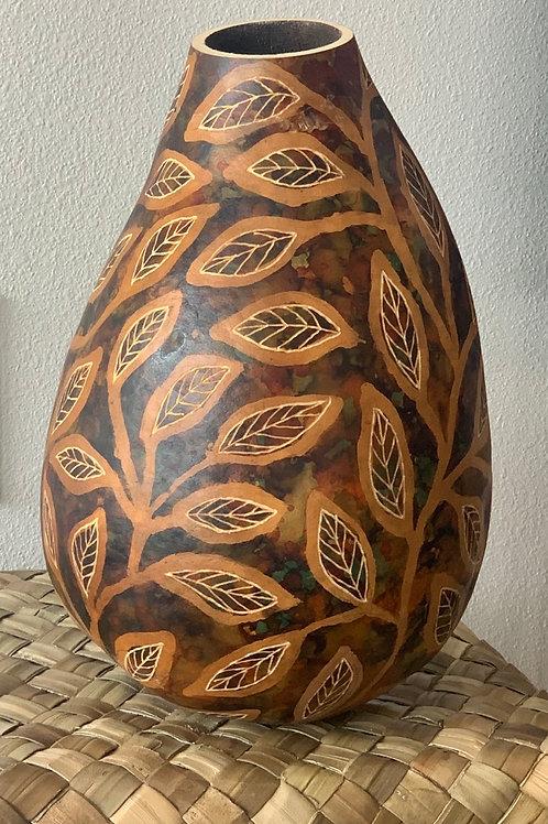 Batik leaf gourd