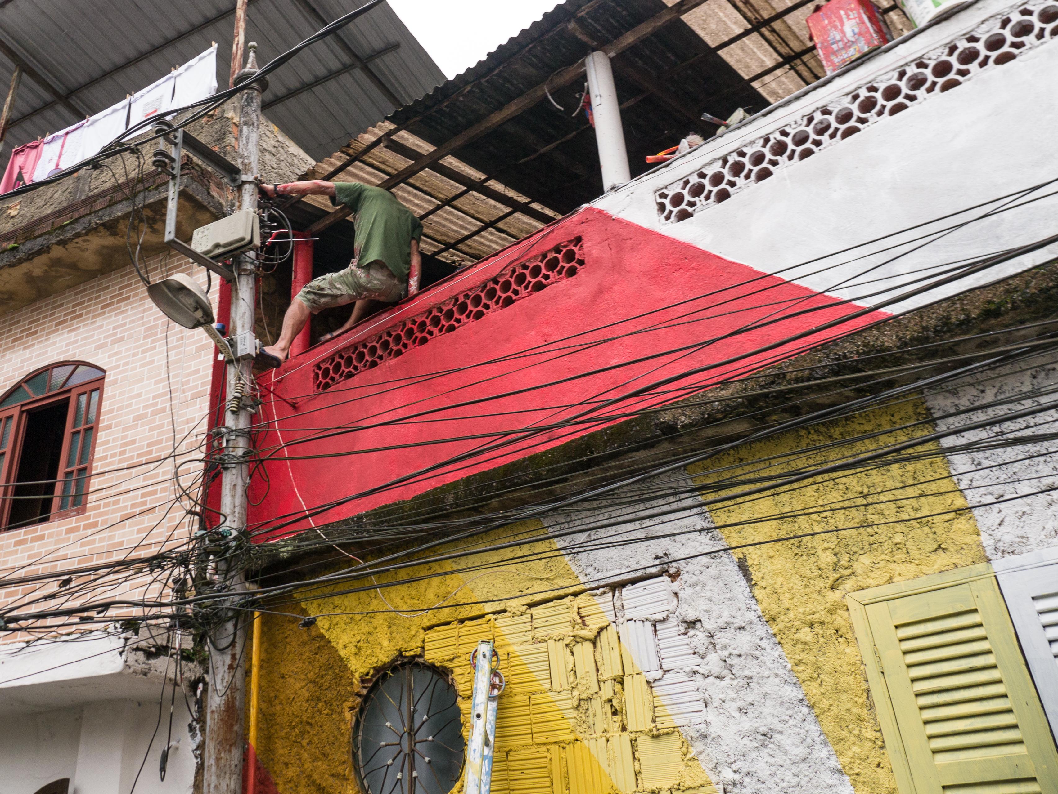 """ARTISTLOVE """"Morro das Cores"""" Brasil"""