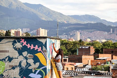 ARTISTLOVE Colombia Divergente Aeiotu Mo