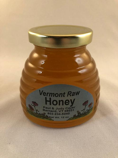 Raw Vermont Honey - 12oz