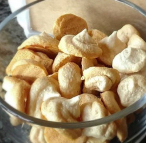 Dandelion Meringue Cookies