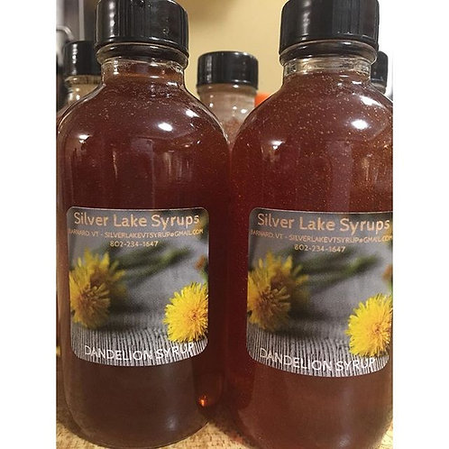 Dandelion Syrup: 4oz Bottle