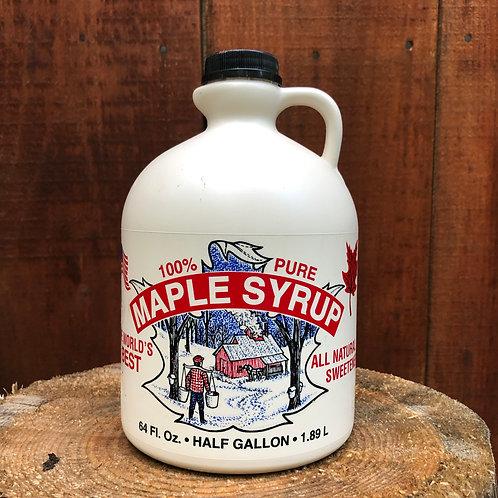 Maple Syrup Amber - Half Gallon