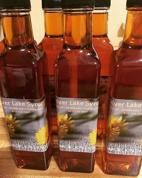 Dandelion Syrup: 8.5oz Glass Bottle