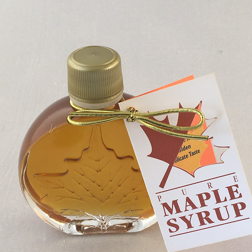 Maple Syrup Golden Delicate - Glass Medallion