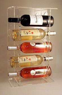 Présentoir Plexi 5 bouteilles