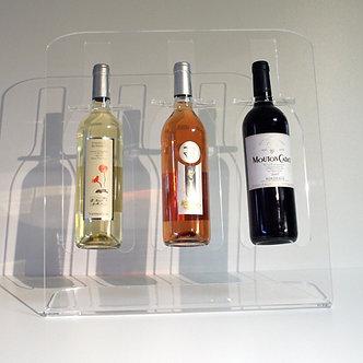 Présentoir Plexi 3 bouteilles