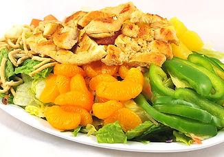 Oriental Chicken Salad with mandarin oranges