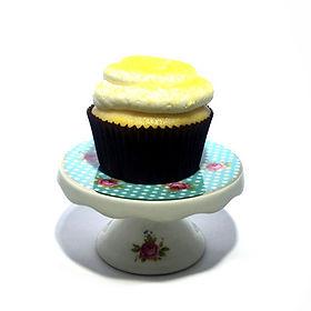 Lemon with Vanilla Buttercream Cupcake