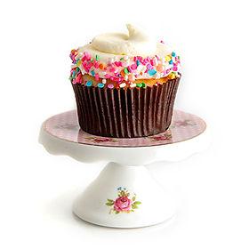 Funfetti with Vanilla Buttercream & Sprinkles Cupcake
