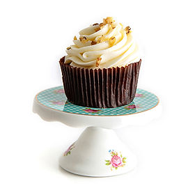 Carrot Cake with Cream Cheese Icing Cupcake