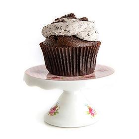 Cookies & Cream with Oreo Buttercream Cupcake
