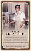 El Ranchito menu cover