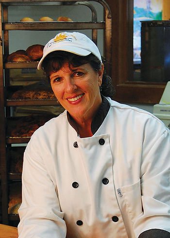 Susan, the Splash Cafe Pastry Chef