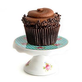 Chocolate with Chocolate Buttercream Cupcake