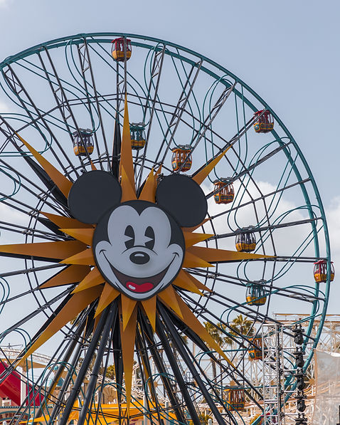 Giant Ferris wheel at Disney's California Adventure