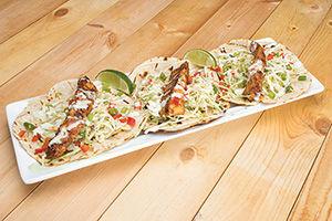 3 Grilled Wahoo Tacos