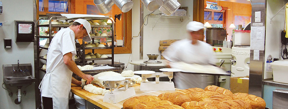 A typical busy day at Splash Cafe Bakery