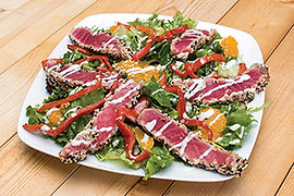 Sesame Seared Ahi Salad