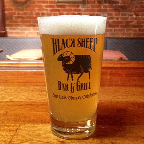 Black Sheep Pint Glass