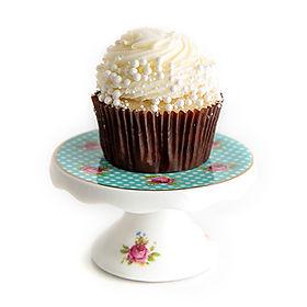Vanilla Bean with Vanilla Buttercream Cupcake
