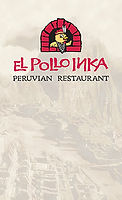 El Pollo Inka Peruvian menu cover