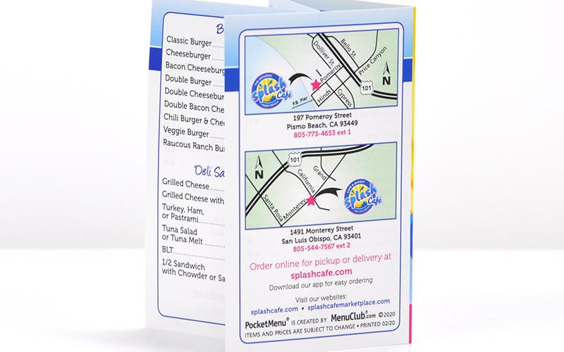 Splash PocketMenu back