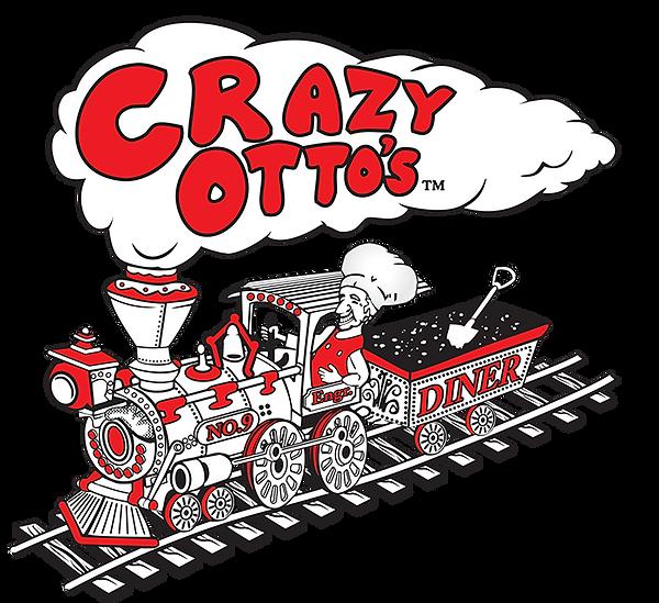 Crazy Otto's train logo