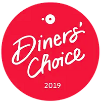 Opentable Diners' Choice 2019 award