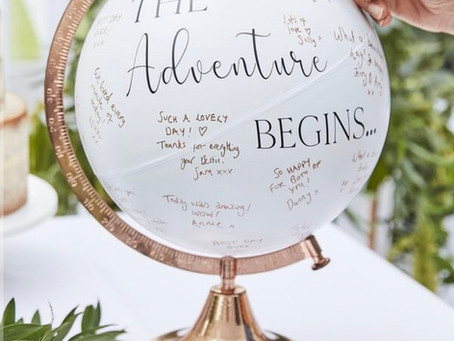 4 Creative & Fresh Alternatives for the Average Guest Book