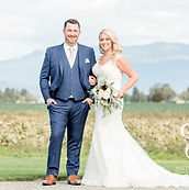 Mistry and Scott Photography for bride and groom at Vanderveen Farm during Skagit Valley September wedding