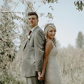Demri Rayanne Photography for bride and groom at Sadie Lake Events during their first look