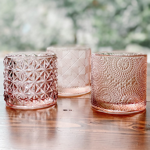 Blush Pink Votives - 3 Styles
