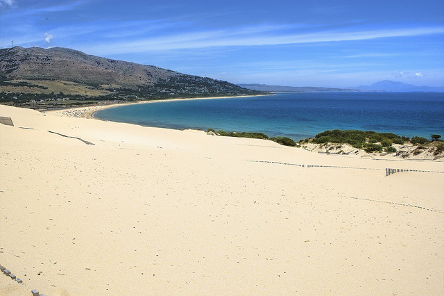 Tarifa sand dune