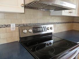 kitchen backsplash with granite countertop