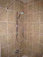 hand shower with wall union
