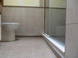 bathroom - tiled walls & floor