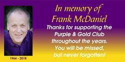 Frank McDaniel Banner