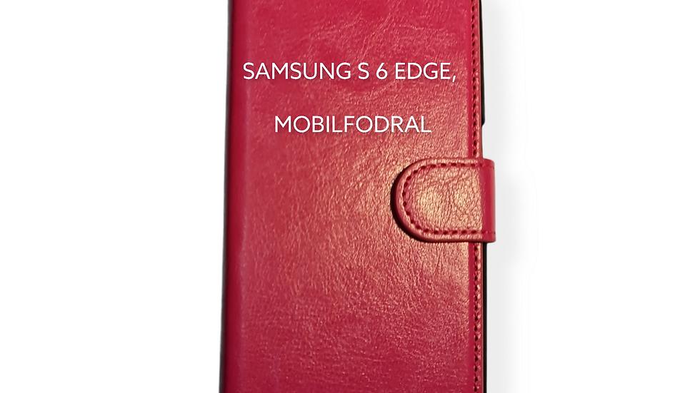 SAMSUNG S 6 EDGE, MOBILFODRAL