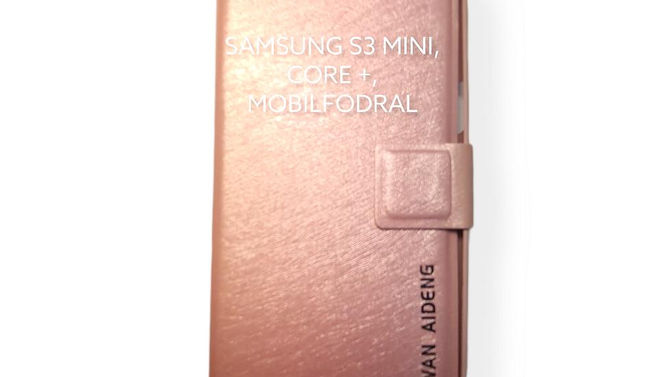 SAMSUNG S3 MINI, CORE +, MOBILFODRAL