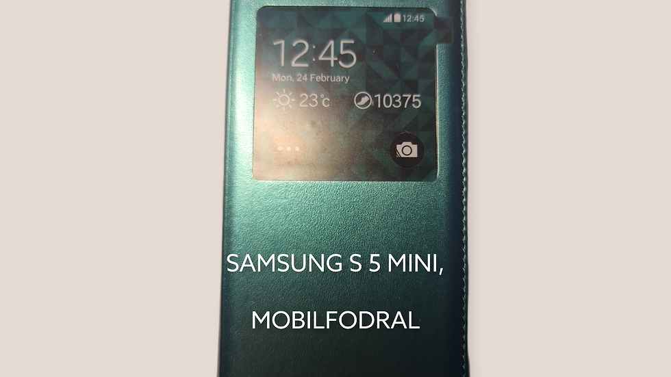 SAMSUNG S 5 MINI, MOBILFODRAL