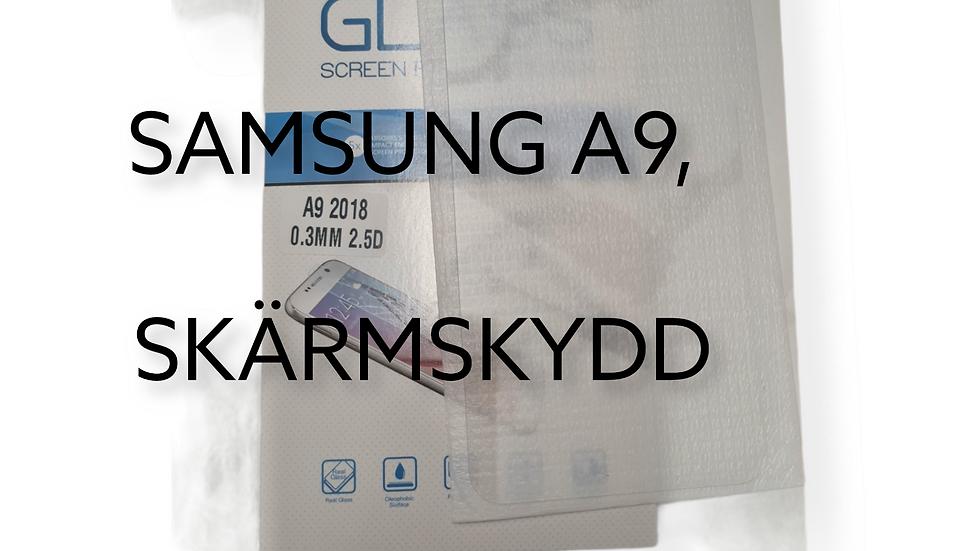 SAMSUNG A9, SKÄRMSKYDD