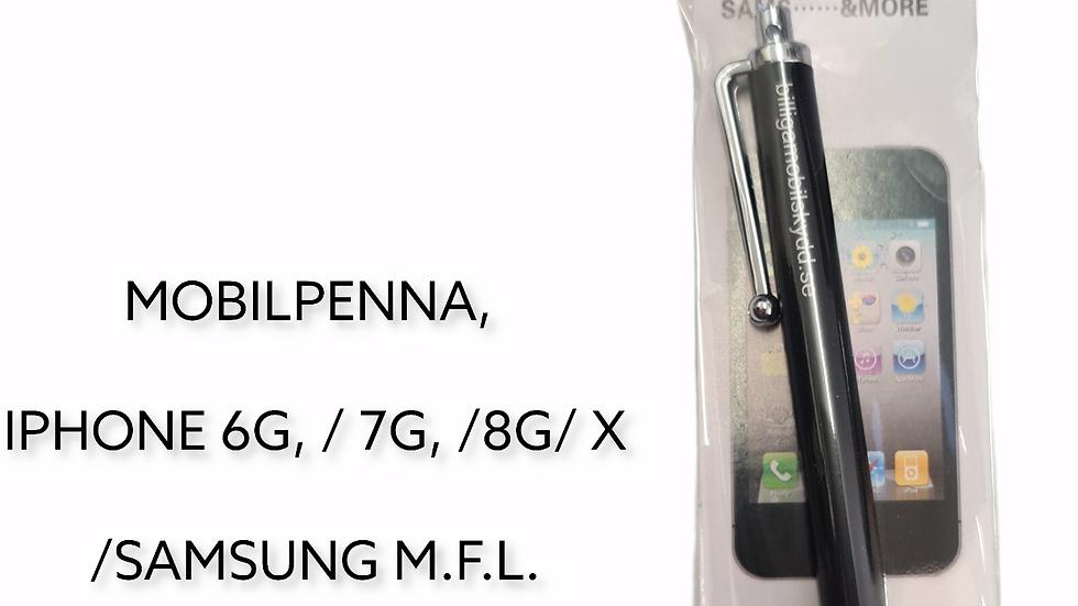 MOBILPENNA, IPHONE 6G/7G/8G/X, SAMSUNG