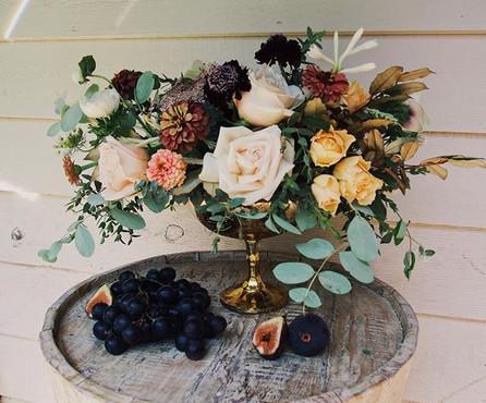 Summer Study #roses #zinnas #anenome #qu