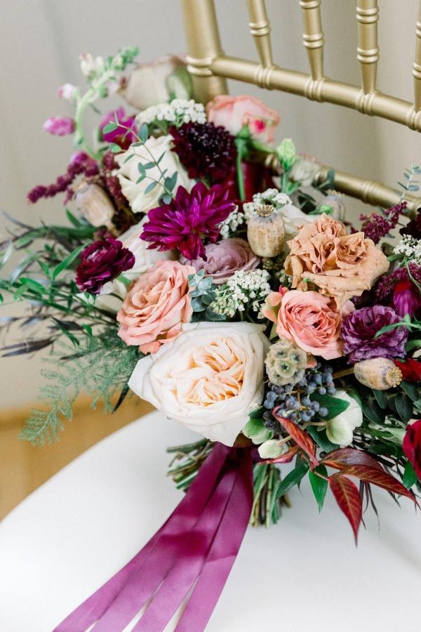 Robert & Erica Wedding Bouquet