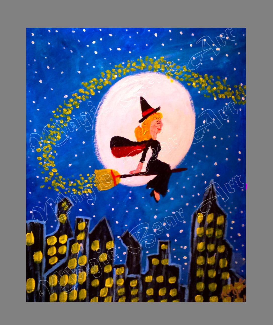 Samantha's Midnight Flight